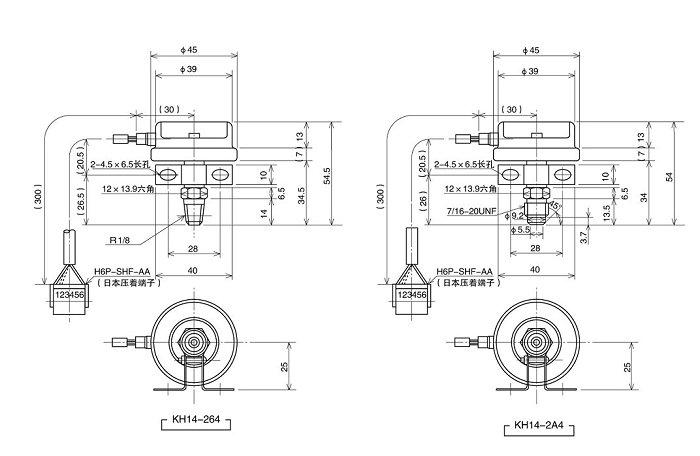 型压力传感器 型号:kh14系列 概述:本产品采用真空蒸发式半导体应变片