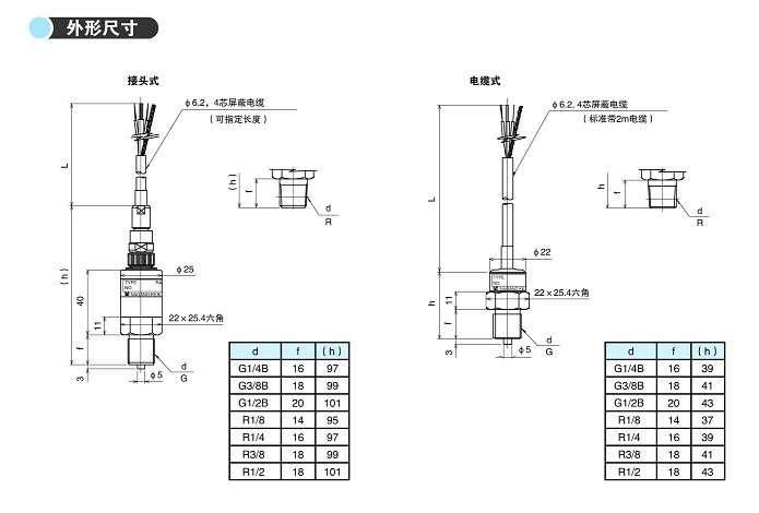 型压力传感器 型号:kh17系列 概述:本产品采用真空蒸发式半导体应变片